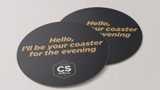 Cathedral Social Hall Coasters