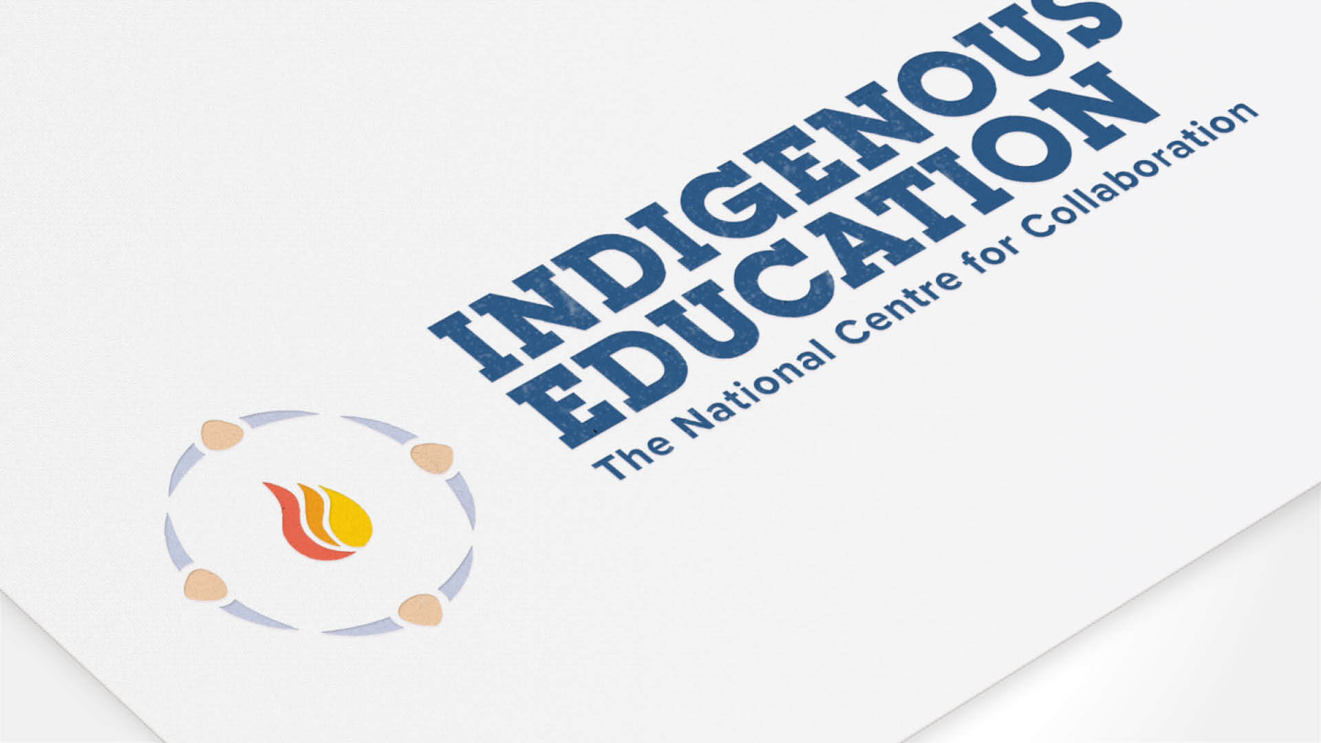 National Centre for Collaboration in Indigenous Education, Brand, NCCIE Logo, Visual Identity Guide, Portfolio Image,