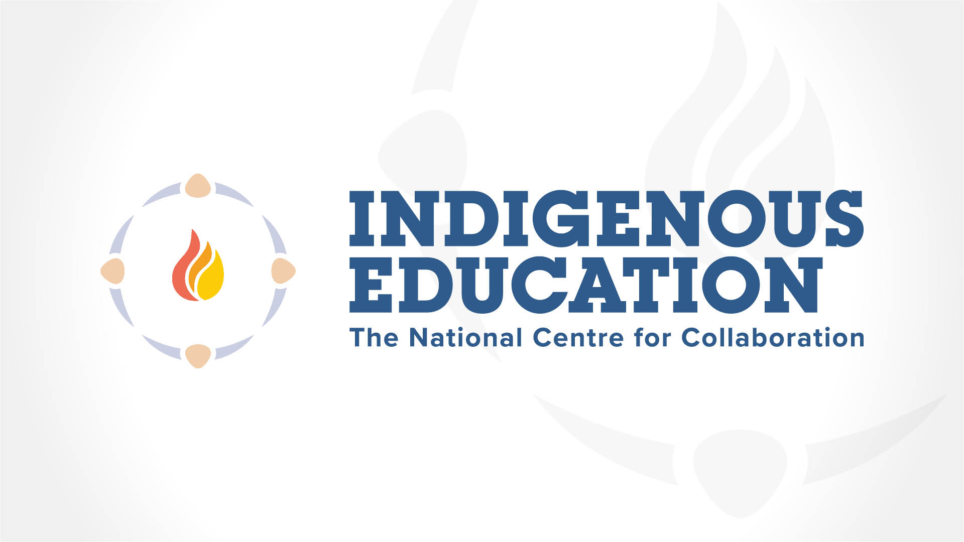 National Centre for Collaboration in Indigenous Education, Brand, NCCIE Logo, Visual Identity Guide, Portfolio Image