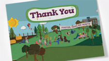Foster Families Month Thank You Card